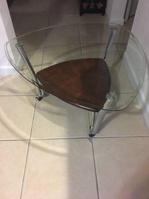 Round Glass Table $50 for Sale in Miami, FL
