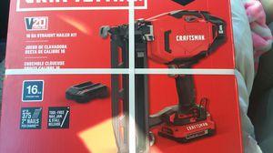 Photo Craftsman 16 ga straight nailer kit