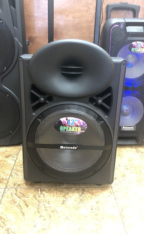 Meirende MR-103 portable professional speakers for Sale in