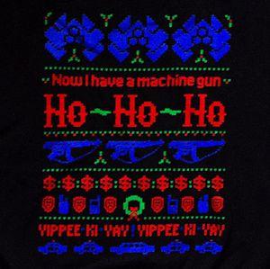 Die Hard Ugly Christmas Sweater Teefury Unisex Men Women Sweatshirt