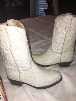 Cowboy boots 12 1/2 for boys Thumbnail