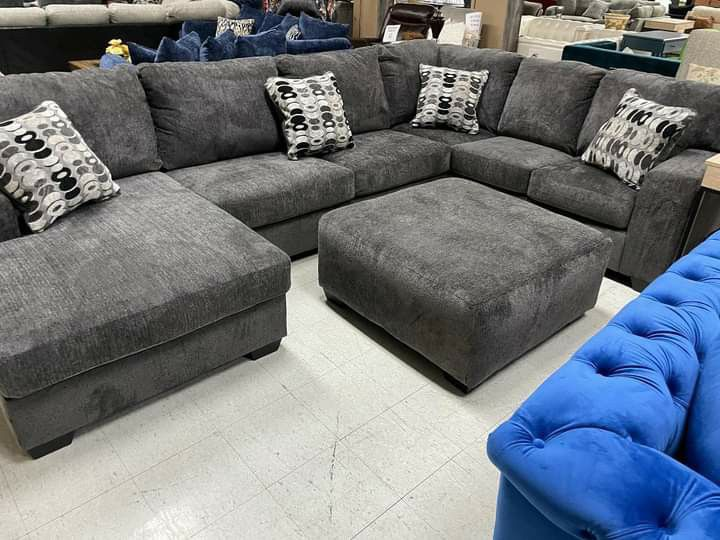 Ballinasloe Sectional & couch living room set & IN STOCK