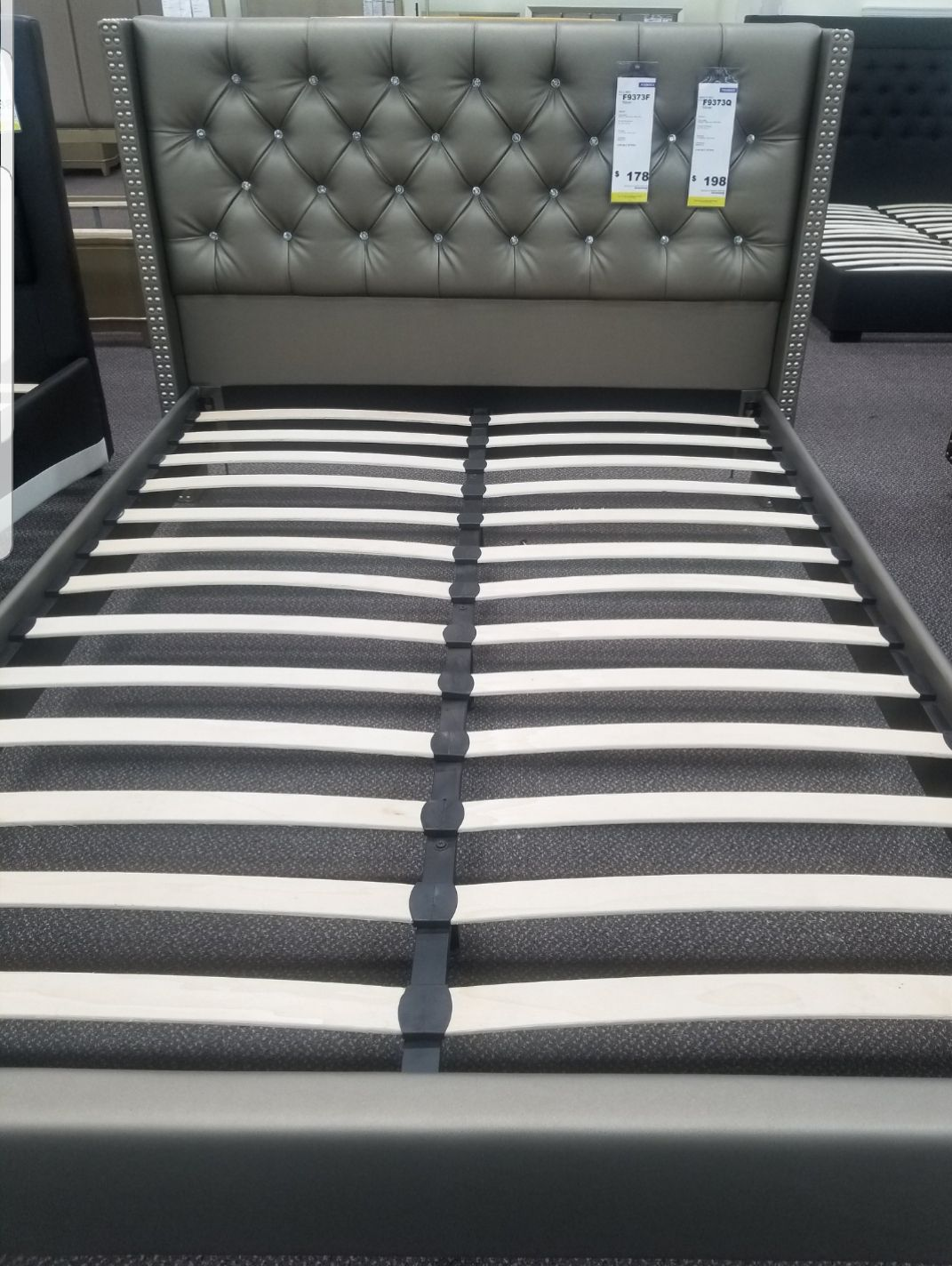 new queen size bed frame ..