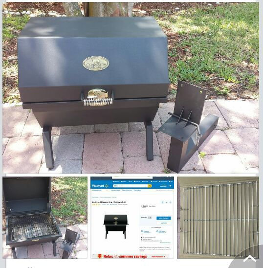 Backyard Classic 2 in 1 Tailgate Charcoal Grill - Backyard Classic 2 In 1 Tailgate Charcoal Grill For Sale In Cutler