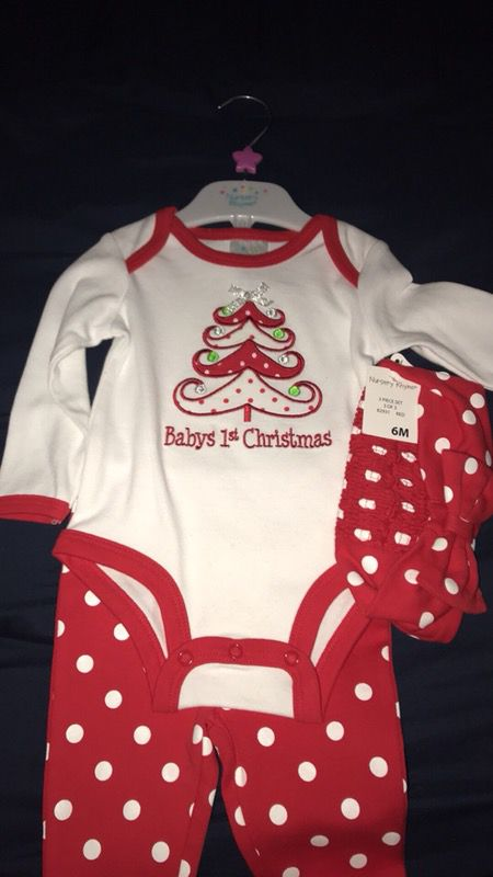 babys 1st christmas outfit for sale in hazel green al offerup