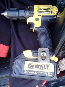 Dewalt hammer drill W/ Battery Thumbnail