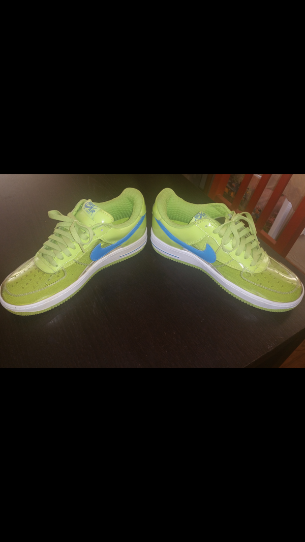 sports shoes bb9cc 77801 Nike Air Force 1 invisible clear Harbor military shoes size 10 and a half  for Sale in Los Angeles, CA - OfferUp