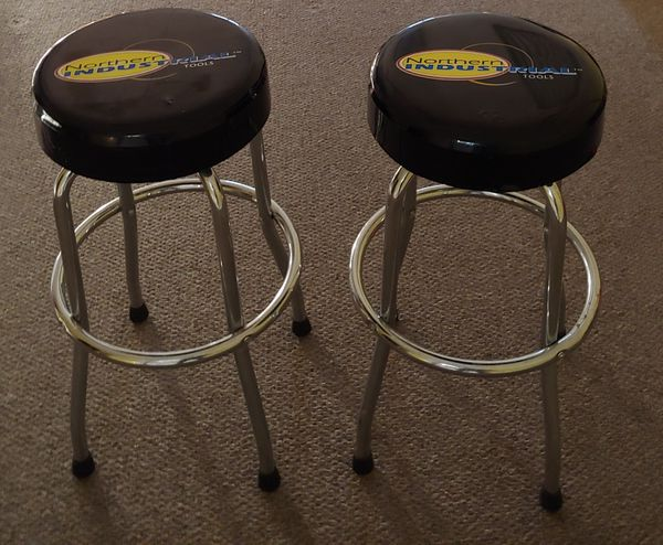 Two Northern Industrial Tools Bar Stools For Sale In Glen