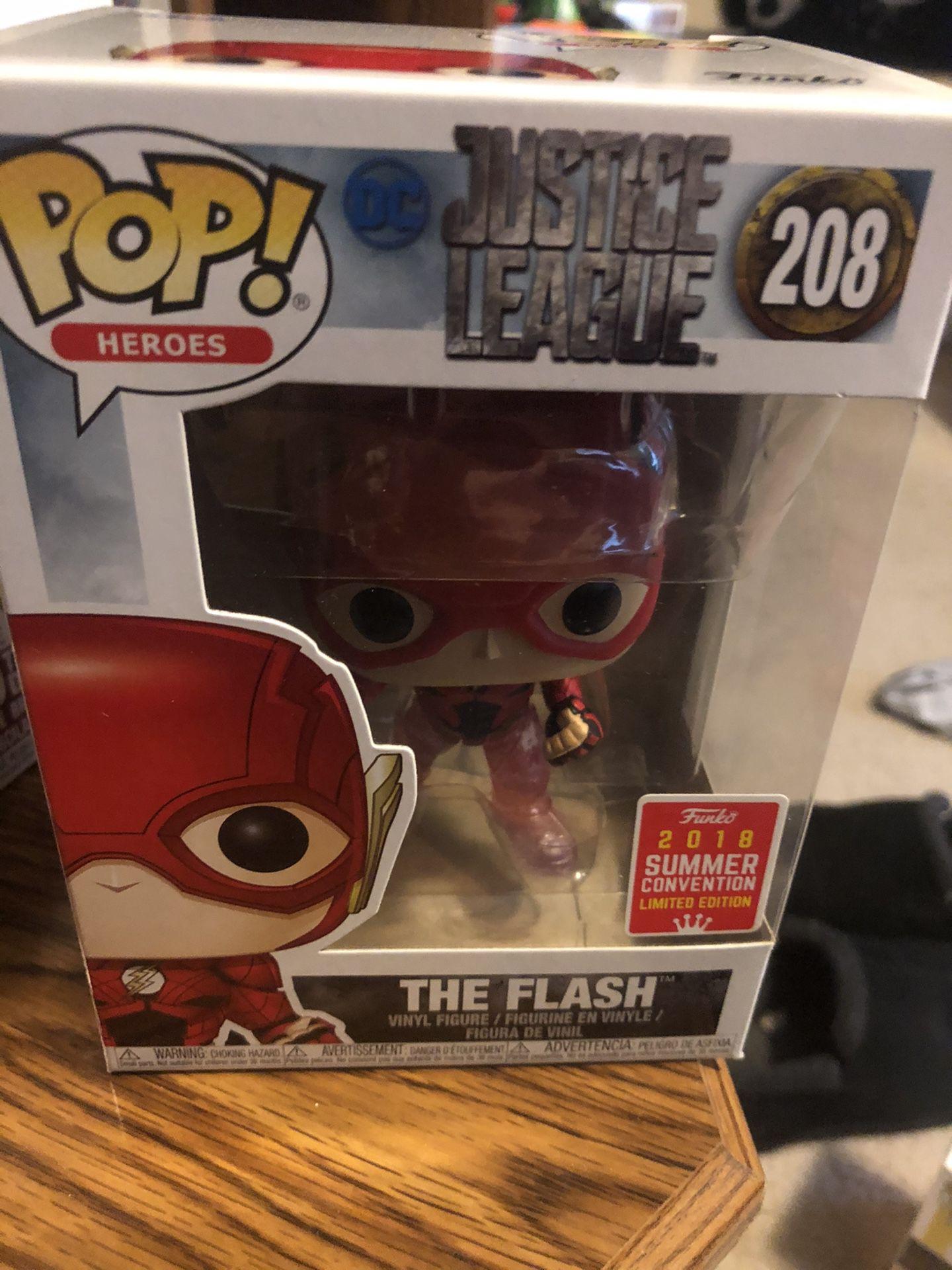 The flash pop funko