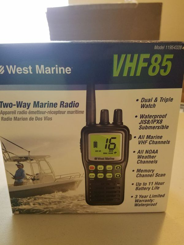 West Marine VHF85 radio for Sale in Little Elm, TX - OfferUp