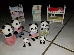 Calico Critters + Bedroom sets for Sale in Kaneohe, HI