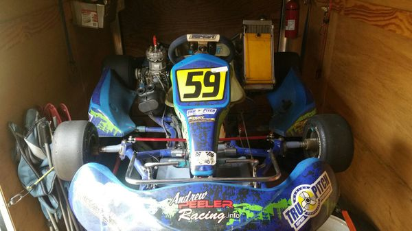 Go kart and trailer! for Sale in Carmichael, CA - OfferUp