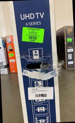"New Samsung 55"" UHDTV! W/ warranty. Open Box RAT92 Thumbnail"