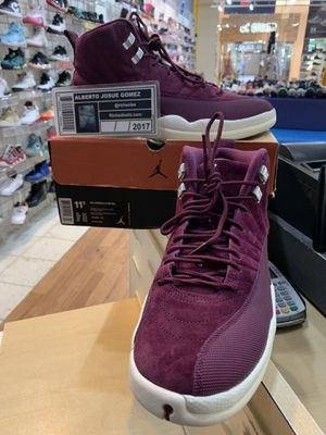Air Jordan 12 Bordeaux Size 11.5 for Sale in Silver Spring, MD