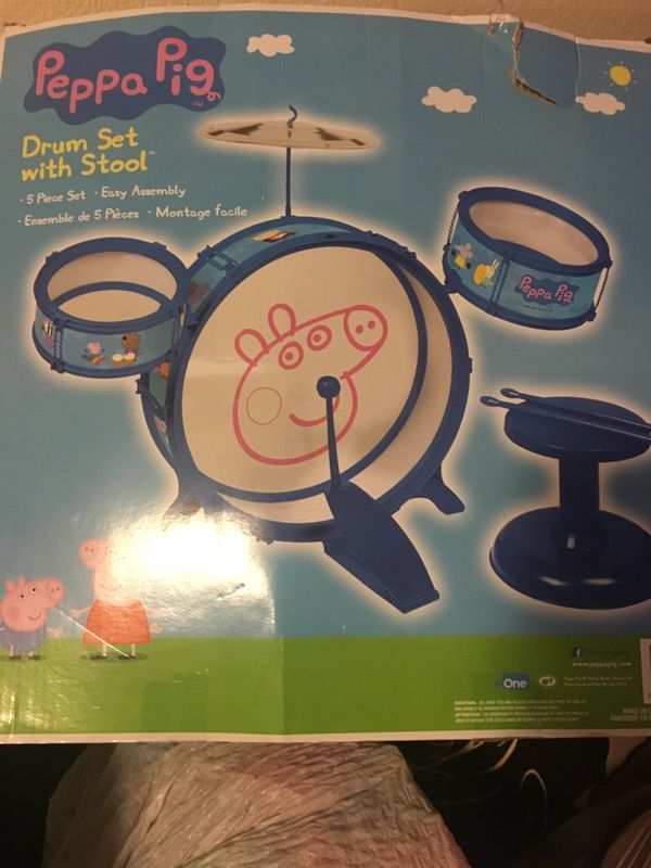 Drum set peppa pig for Sale in Austin, TX - OfferUp