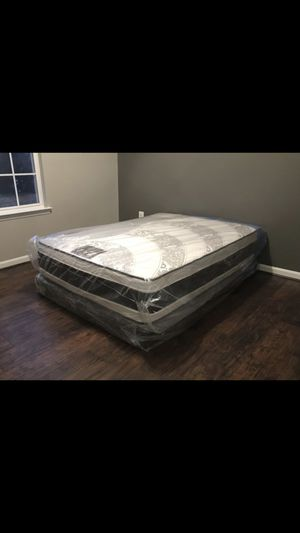Queen mattress and box springs hot deal free delivery for Sale in Adelphi, MD