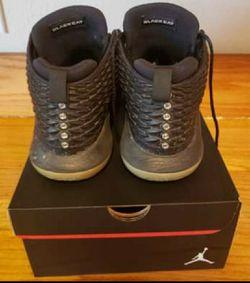 Jordan 32 Blackcat - size 7Y Thumbnail
