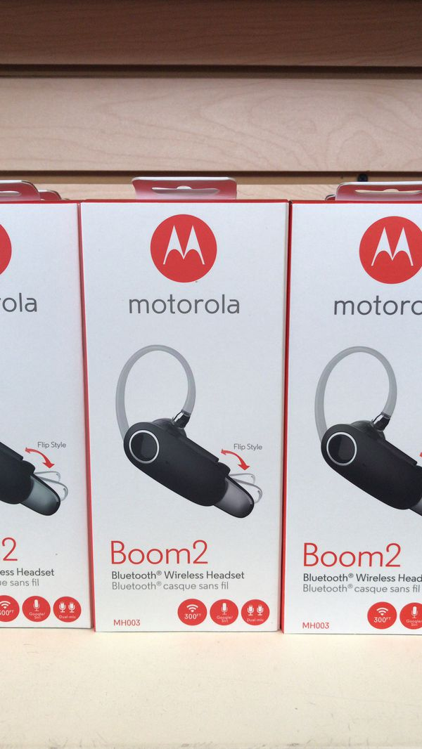 ad146452fb3 Motorola Boom 2 Bluetooth Headset — Bulk Purchases Welcome for Sale ...