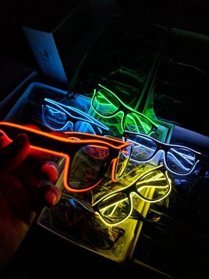 READY FOR THE HOLIDAYS NEON GLASSES 😎 for Sale in Fresno, CA