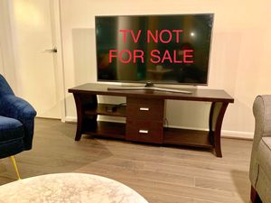 "Modern TV stand 60"" wide ($350 retail value) for Sale in McLean, VA"
