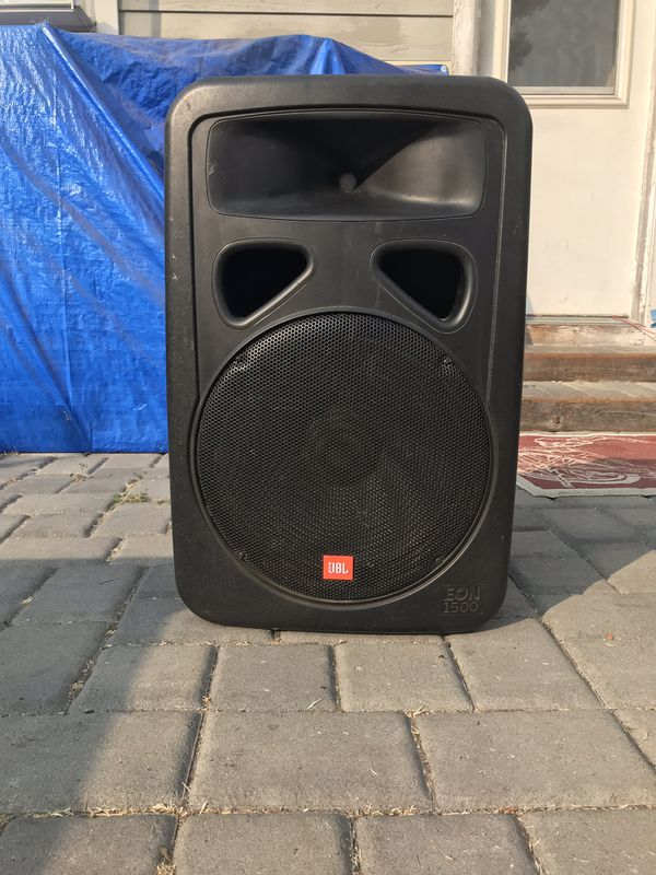 2 JBL EON1500 passive speakers for Sale in Mountain View, CA - OfferUp