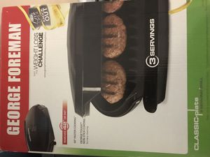 George Foreman weight loss grill for Sale in Detroit, MI