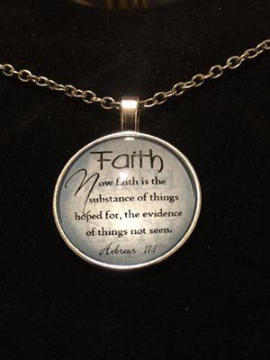 Hebrews 11:1 necklaces, brand new for Sale in Aldie, VA