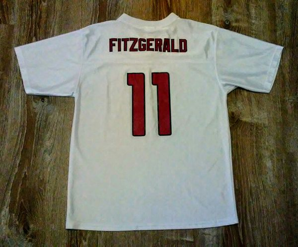 7cb26d0f8 HEY NOW! ARIZONA CARDINALS LARRY FITZGERALD JERSEY NFL SHIRT ...