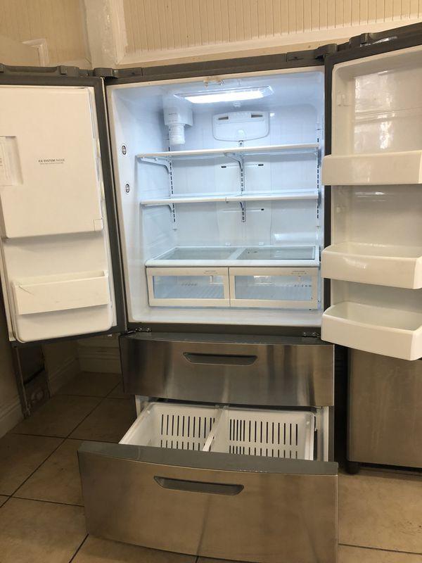 Refrigerator French Door Fridge 4 Doors Appliances In Los Angeles