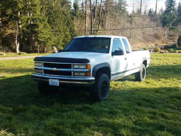 1995 chevy 2500 4x4 for sale in snohomish wa offerup. Black Bedroom Furniture Sets. Home Design Ideas
