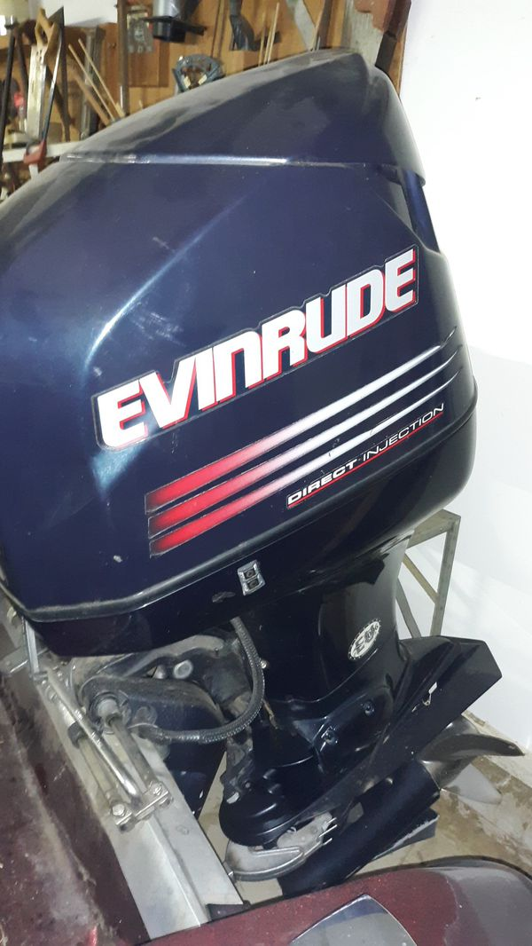 150 horsepower Evinrude outboard motor less then 100 hours for Sale in West  Carrollton, OH - OfferUp