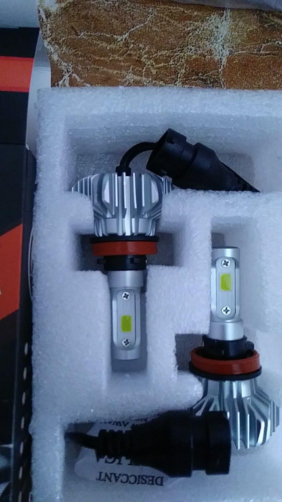 H11 led headlight conversion