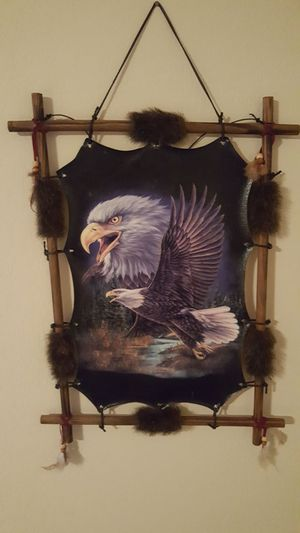 Used, Eagle oil painting for sale  Broken Arrow, OK