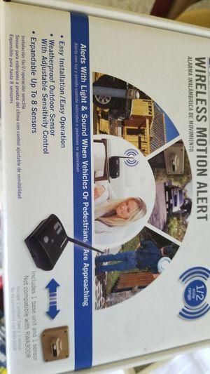 Chamberlain wireless motion alert for Sale in Los Angeles, CA