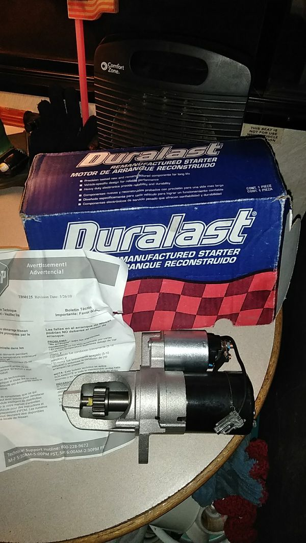 Duralast Starter For 99 Nissan Maxima Auto Parts In Tacoma Wa Offerup