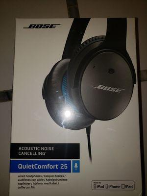 Bose noise cancelling quiet comfort25 headphones for Sale in Alexandria, VA