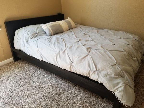 Full size mattress modern bedframe headboard (Furniture) in Tacoma ...