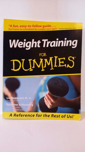 WeightTraining for Dummies Book for Sale in Midlothian, VA