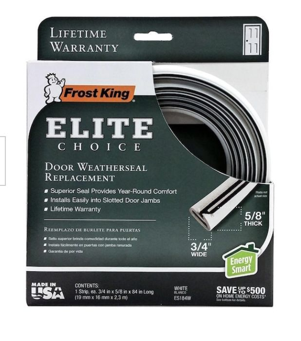 Door weather seal replacement