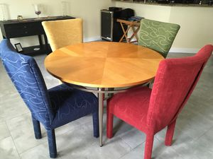 Dining and living room furniture set. for Sale in Pompano Beach, FL