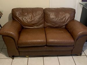 Pleasant New And Used Leather Couch For Sale In South Miami Fl Offerup Creativecarmelina Interior Chair Design Creativecarmelinacom