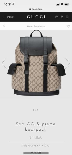 ab9016003477 Gucci Backpack , Gucci , GG , Supreme for Sale in Santa Ana, CA