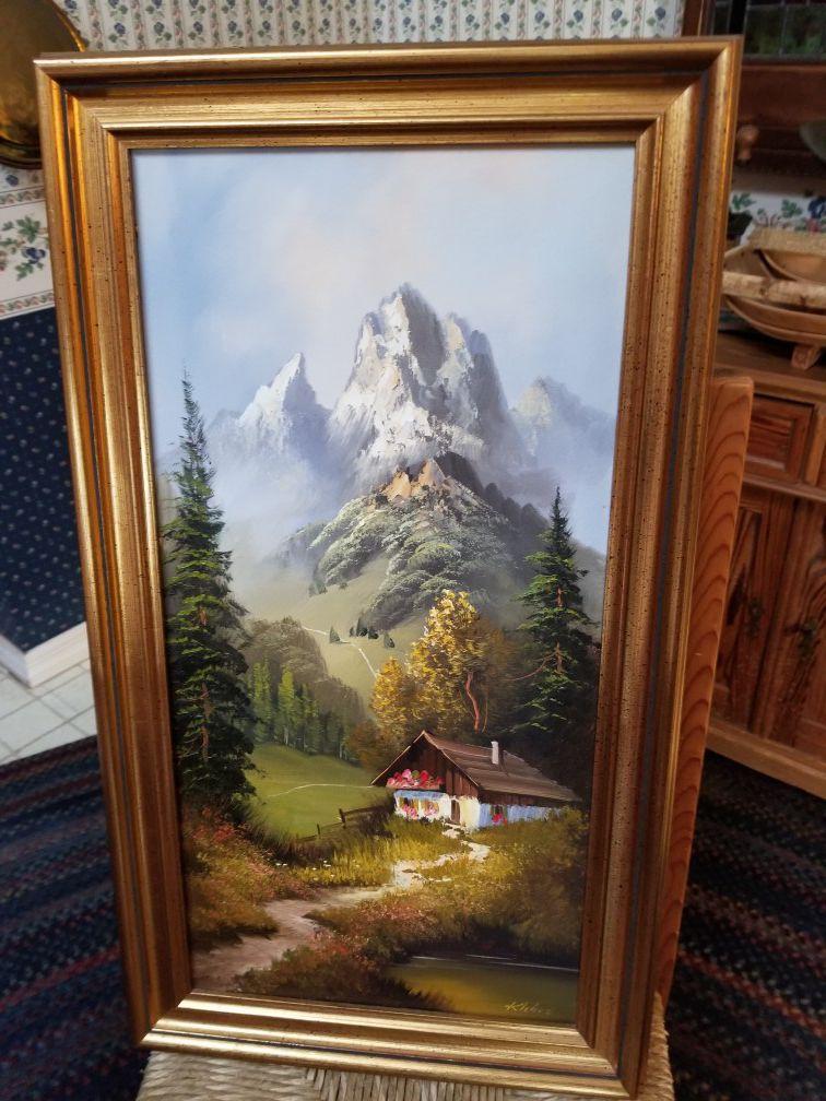 German Oil Painting
