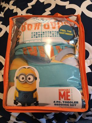 Minions toddler bedding for Sale in Dillwyn, VA