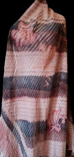 Blanket size scarf throws Thumbnail