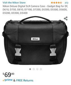 Nikon deluxe digital SLR Camera Case Thumbnail