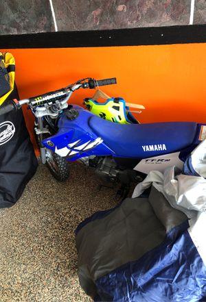 Photo Yamaha ttr 90 and ttr 250