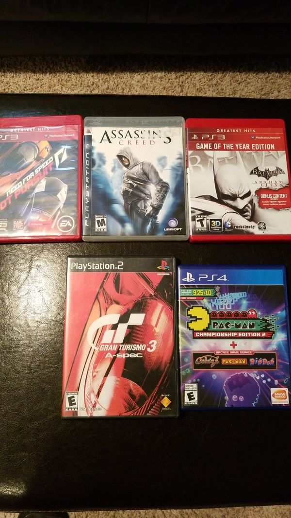 3-PS3 Games, 1-PS4 and 1-PS2 GAME for Sale in Milford, OH - OfferUp