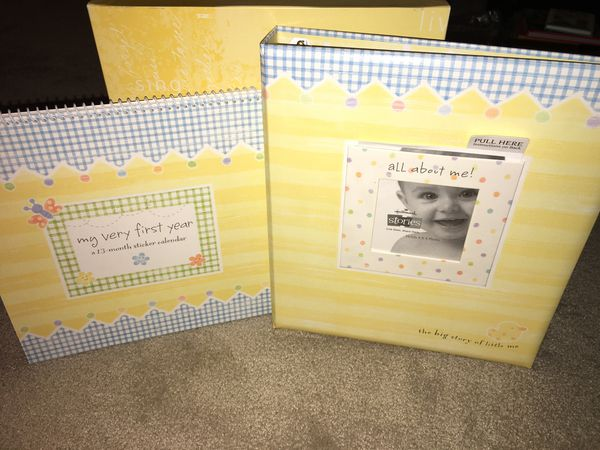 Hallmark Stories Album And My First Year Calendar Baby Kids In
