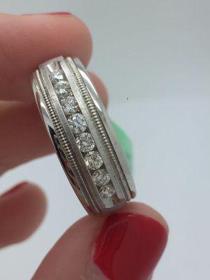 Mens diamond ring / mens wedding band for Sale in Miami, FL